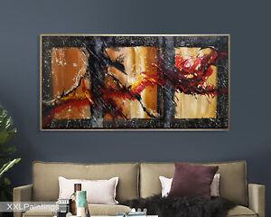Vnartist / ORIGINAL 120cm x 60cm Abstrakt Gemälde Modern XXL Bilder 79
