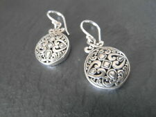 Balinese genuine 925 sterling silver BOHO earrings