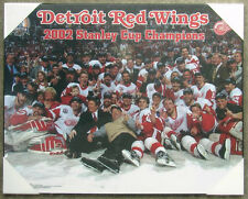 Detroit Red Wings 2002 Stanley Cup Championship Picture Plaque (Ice)