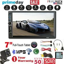 7'' 2Din Touch Screen Android Car Dash MP5 Player HD FM Radio+Free Rear Camera H