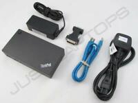 Lenovo THINKPAD W541 T580 USB 3.0 Docking Station W / Duale Video Ausgang Inc