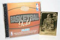 PATRICK EWING 1986-87 Fleer ROOKIE 23KT Gold Card BLACK SIGNATURE INSERT