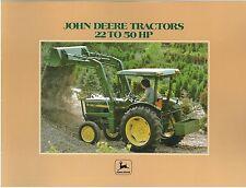 JOHN DEERE TRACTOR 2040 & 2240 + IMPLEMENTS BROCHURE - BXJD1