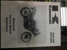 1994 Kawasaki Ninja 500 , GPZ500s Factory OEM Service Supplement Manual