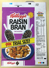 Kellogg's Raisin Bran Box - 99 cents Trial Size Box