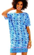 Lilly Pulitzer NWT Lowe Stretch Dress in Lapis Blue Costa VerdeSize Small $178
