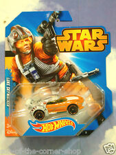 EXCELLENT MATTEL HOT WHEELS STAR WARS SKYWALKER LUKE X-WING voiture état neuf &