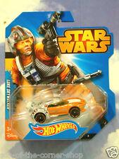 EXCELLENT MATTEL HOT WHEELS STAR WARS LUKE SKYWALKER X-WING CAR MINT & CARDED!!