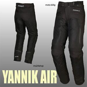 Modeka Motorradhose Yannik Air leichte Sommer Hose Motorrad wasserdicht luftig