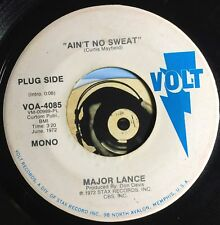 Major Lance 45 Northern Soul Promo Ain't No Sweat Mono Same Song Both Sides M-