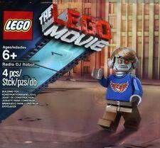Lego Movie Polybag 5002203 - Radio DJ Robot Minifig (New & Sealed)