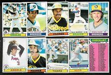 1979 OPC O PEE CHEE TOPPS MLB BASEBALL CARD 1-125 SEE LIST