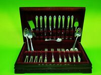 Beautiful 59 Unknown Pattern  sterling silver Flatware set by Gorham .
