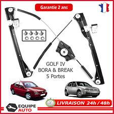 Mécanisme Lève vitre électrique avant droit golf 4 IV bora 5 portes =1J4837462H