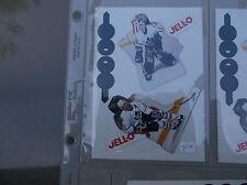 1993-94 Kraft HOCKEY JELL-O JELLO PUDDING DOUG GILMOUR FELIX POTVIN