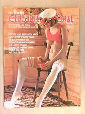 RARE REVUE EROTIQUE VINTAGE EN ANGLAIS / CLUB INTERNATIONAL 4-11 / 11/1975 +++
