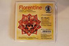 Faltblätter Florentine Chrysanthemen 01 ; 65 Blatt 10 * 10  cm 80 g/qm