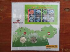 Numisbrief Österreich 2x 5 Euro Silber Euro Cup 2008