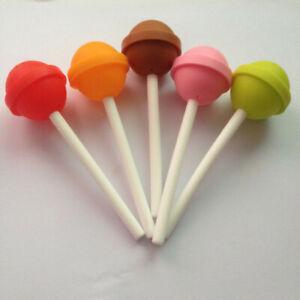 Tea Strainer Diffuser Flower Tea Filter Loose-Leaf Infuser Silicone Tea Lollipop