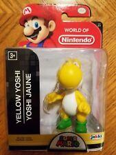 Jakks Pacific Super Mario YELLOW YOSHI 2-5 World of Nintendo 2.5 inch Figure