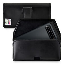Samsung Galaxy S10 5G Belt Holster Pouch Leather with Belt Clip Horizontal