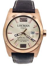 Orologio Locman Stealth Automatico 205PRRP/585 42mm Pelle Scontatissimo Nuovo
