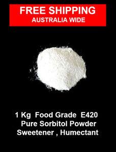 1 Kg of Food Grade Sorbitol Powder E420  Sweetener , humectant