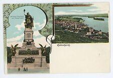 UDB Greeting RUDESHEIM am Rhein Ruedesheim Germany Vintage Postcard