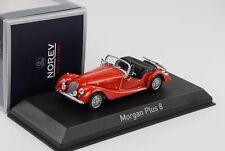 1980 Morgan Plus 8 British Red Diecast 1:43 norev 270303