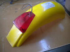 NOS Preston Petty Yellow Rear Fender with Taillight Tail Light Assembly ISDT