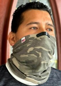 335 Face Mask BALACLAVA Face Cover Military REUSABLE Camo with Nose Wire