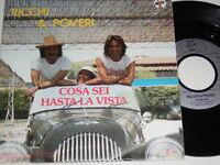 """7"""" - Ricchi & Poveri Cosa sei - 1984 # 5615"""