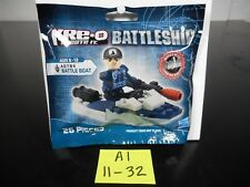 BRAND NEW & SEALED!!! KRE-O BATTLESHIP BATTLE BOAT A0794 WORKS W/ LEGOS A1-11-32