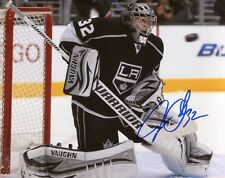 JONATHAN QUICK SIGNED AUTOGRAPH 8X10 PHOTO LOS ANGELES KINGS
