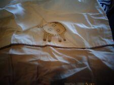 Pottery Barn Kids crib sweet Lambie bedskirt bed skirt New