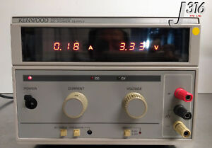 31 KENWOOD REGULATED DC POWER SUPPLY, AC220V 50/60HZ PD36-10AD