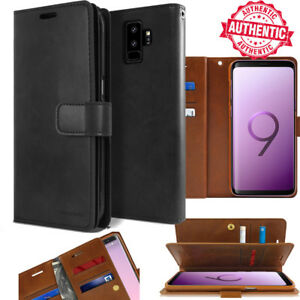 For Samsung Galaxy S10 S9 / Note 10 9 Flip Card Slot Wallet Leather Case Cover