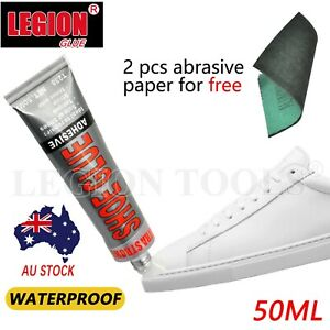 50gm Shoe Repair Fix Glue Adhesive Sole Rubber Leather Canvas Foam Plastic Bond