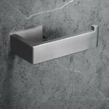 304 Stainless steel Brushed Paper Holder Square Roll Paper Holder Toilet Rack
