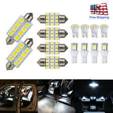 14Pcs/Set LED Interior Package Kit For T10 Map Dome License Plate Lights Lamp US