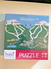 WHISTLER 60 PIECE PUZZLE RARE SKI SLOPE - BUTZI GAMES AGES 4+ -NEW SEALED!