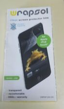 Wrapsol  05314 Clean Screen Protector Film / Apple iPod Touch  Free Shipping