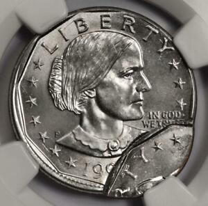 1999 NGC MS65 Double Struck Susan B Anthony Dollar Mint Error Amazing SBA $1 Wow