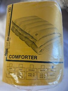 Vintage Frostline sew-it-yourself  Trinyl Quilted Down Comf (King) - Brown/Beige