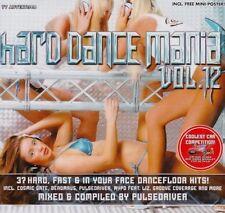 Pulsedriver Hard dance mania 12 (mixed & compiled, 2007) [2 CD]