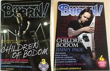 Alexi Laiho Children of Bodom on COVER LOT of 2 Japan Magazines RARE!