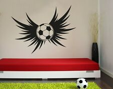 Soccer Wings - highest quality wall decal stickers