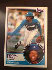 1983 Topps Traded Pascual Perez Atlanta Braves 84T