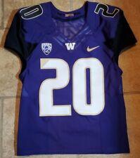 Kevin King Purple UW Washington Huskies Game Used Worn Nike Jersey #20