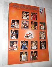 2006 WNBA game roster photo Phoenix Mercury Sacramento Monarchs Lindsay Whalen